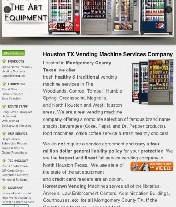 houston vending machine companies