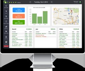 Stream VMS vending route software